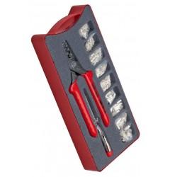 Клещи для опрессовки в наборе с контактными гильзами NWS 143-BS