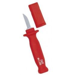 Нож VDE для снятия изоляции, узкий (до 1000 Вольт) NWS 2048