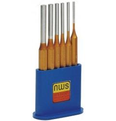 Набор выколоток цилиндрических (6 шт.) NWS 2992-6