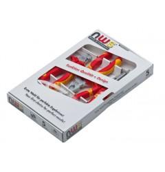 Комбинированный набор инструментов VDE (3 шт.) NWS 782