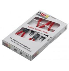 Набор клещей для съёма стопорных колец №3 (4 шт.) NWS 793