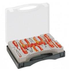 Набор VDE 1000В в пластиковом кейсе (9 предметов) NWS 832-9